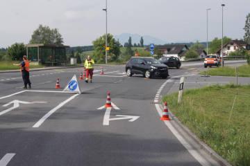 Hünenberg ZG - Schutzengel für zwei Fahrzeuglenkende