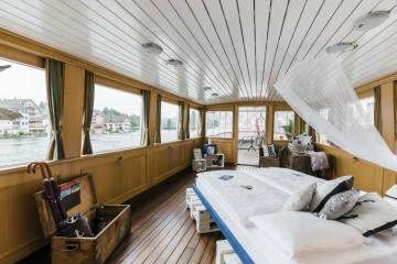 Schiff-Hotel auf dem MS Konstanz