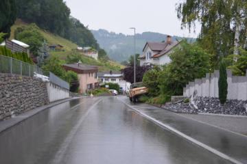 Lutzenberg AR - Selbstunfall mit Personenwagen