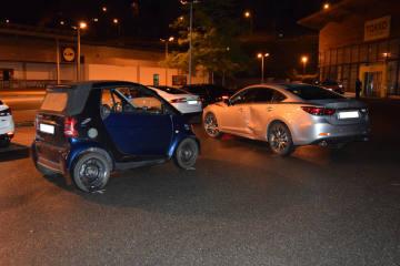 Herisau AR - Verkehrsunfall zwischen zwei Personenwagen