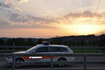Rorschach SG - Polizist während Verkehrsdienst angefahren