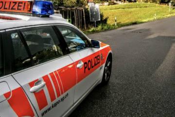 Lütisburg SG - Streifkollision mit erheblichem Sachschaden