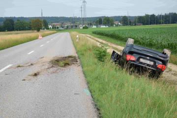 Deitingen SO - Autofahrer schrottet Auto