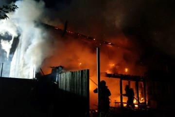Schöftland AG - 80 Feuerwehrleute rückten zur Brandbekämpfung aus