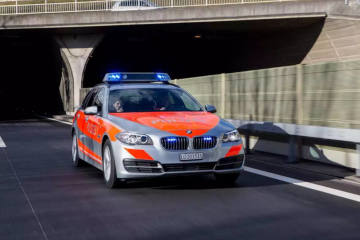 Reidermoos LU - Mit Rennfahrrad frontal in Auto gefahren