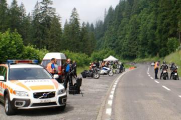 Urnerboden UR - Präventionsaktion für ein sicheres Motorradfahren