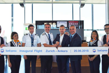 SunExpress hebt mit rund 200'000 Sitzen in Zürich ...