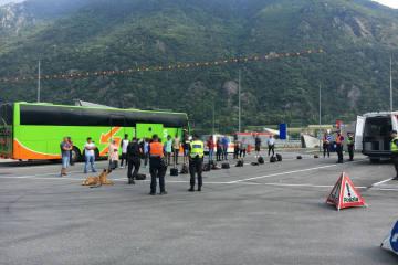 San Vittore  GR - Auf der Durchreise festgenommen