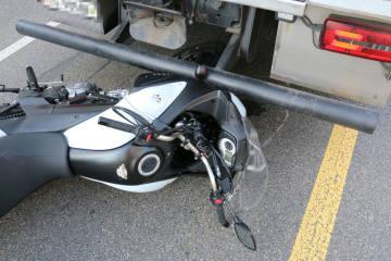 St. Gallen SG - Lastwagen kollidiert mit Motorrad