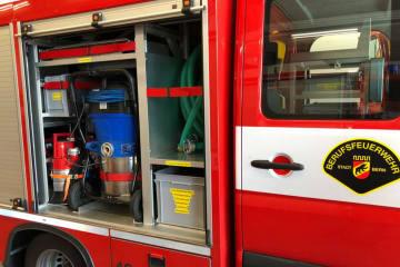 Stadt Bern BE - Autobrand in Einstellhalle