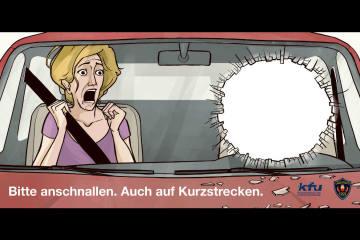 Liechtenstein FL - Gurte tragen kann Leben retten