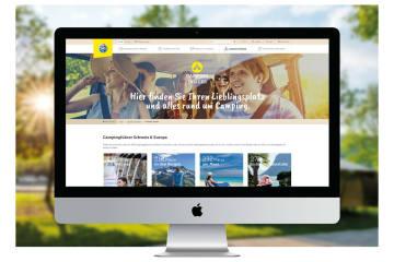 Grösste Schweizer Camping-Plattform lanciert