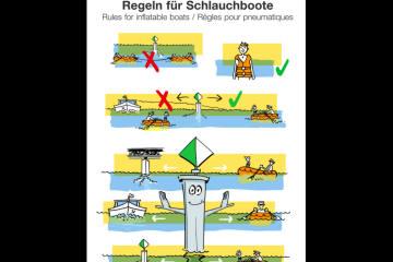 Die grosse Gefahr auf und im Rhein