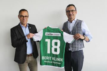 Berit-Klinik neuer Medical Partner des FC St. Gallen