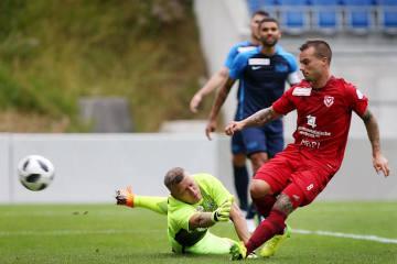 Sieg im Testspiel gegen den Schweizer Cupsieger