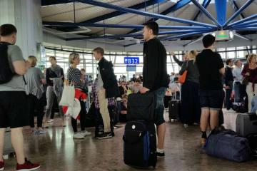 Hochbetrieb am Flughafen Zürich