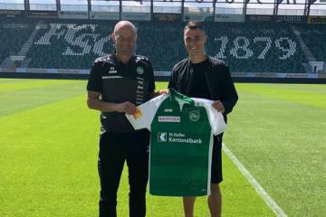 Vincent Sierro wechselt zum FCSG