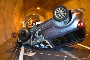 Davos GR -  Zwei Verkehrsunfälle innert kurzer Zeit