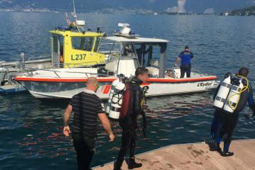 St. Gingolph VS - Bootsunglück fordert ein Todesop...