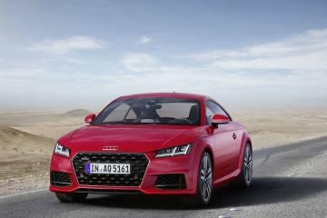 Der neue Audi TT und der neue TTS