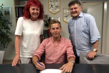 Ilan Sauter wird Profi beim FC Zürich