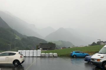 Vorsicht vor Unwetter - Hagel und Starkregen in weiten Teilen der Schweiz