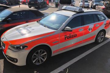 Bellinzona TI - Schwer verletzter Rollerfahrer bei Verkehrsunfall