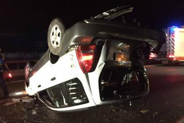 Châtel-St-Denis/A12 - Unfall mit zwei Verletzten auf der Autobahn