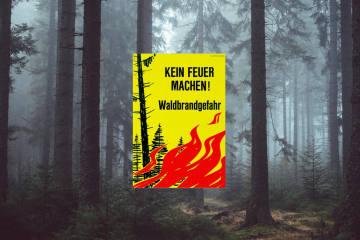 Kanton Uri - Erhebliche Waldbrandgefahr