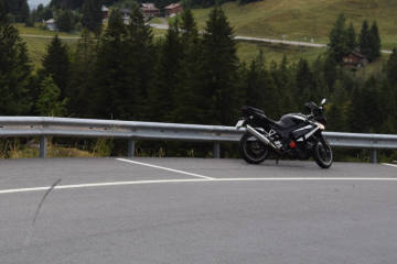 Hundwil AR - Selbstunfall mit Motorrad