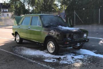 Matzingen TG - Auto in Brand