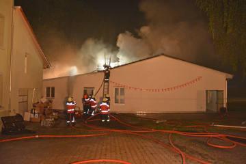 Bonau TG - Feuer in Mehrzweckgebäude
