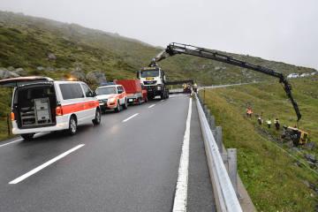 Davos GR - Selbstunfall ohne Führerausweis