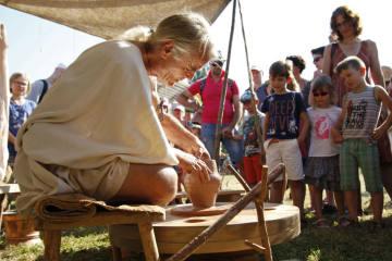 Römerfest Augusta Raurica vor der Tür