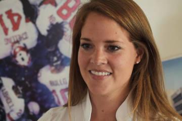 Florence Schelling ist Assistant Coach der Frauen U18 Nationalmannschaft