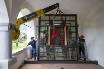 Öffentliche Übergabefeier des Paul-Stöckli-Glasfensters