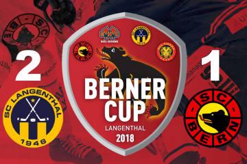 SCB ohne Sieg im Berner Cup