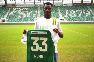 FC St.Gallen 1879 verpflichtet Musah Nuhu