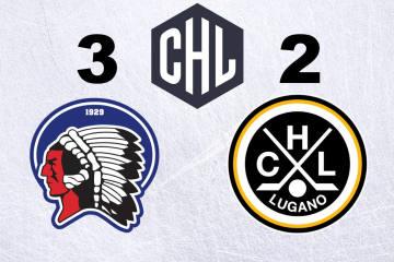 Der HC Lugano verliert sein Startspiel gegen den HC Pilsen knapp