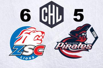 Die ZSC Lions gewinnen erst in der Overtime gegen Aalborg