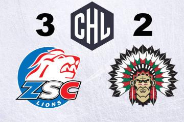 Die ZSC Lions gewinnen gegen Frölunda im Penaltyschiessen