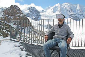 Höchstes VR-Kino der Welt auf der Diavolezza