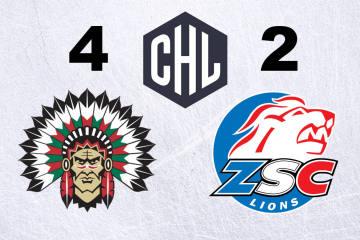 ZSC Lions verlieren das Rückspiel gegen die Frölunda Indians