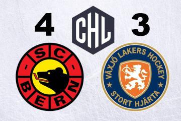 Der SC Bern gewinnt auch zu Hause gegen Växjö
