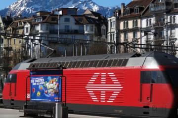 Neue Abfahrtszeit der Direktverbindung von Luzern nach Zürich Flughafen