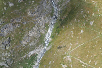 Fionnay / Bagnes VS -  Wingsuit-Flieger tödlich verunfallt