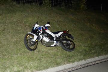 A3/Horgen ZH - Motorradfahrer bei Sturz schwer verletzt - Zeugenaufruf
