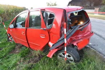 Ballwil LU - Vier Verletzte bei Verkehrsunfall