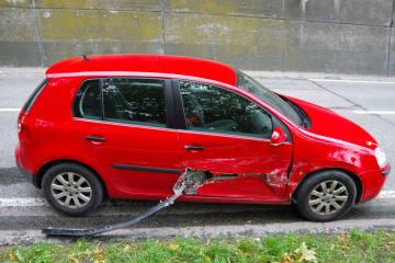 Chur GR - Verkehrsunfall zwischen zwei Personenwagen