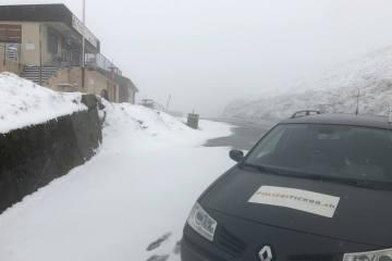 Schweiz - Trüber und auf den Bergen winterlicher Oktoberstart